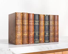 3D Classic books