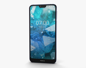 Nokia 7-1 Gloss Midnight Blue 3D model