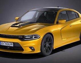 Dodge Charger Daytona 2017 3D model