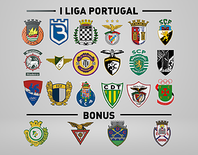 logotype Portuguese League 3D Club Logo