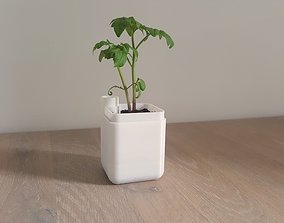 Self-watering planter small 3D printable model