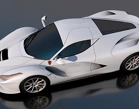 3D model Ferrari dodge