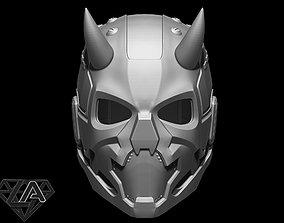 3D printable model Sci-fi cyberdemon helmet V1
