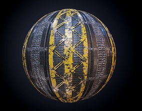 3D model Sci-Fi Military Seamless PBR Texture 48