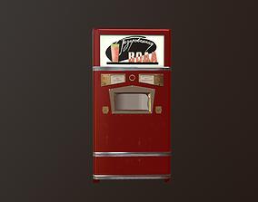 3D model USSR soda machine