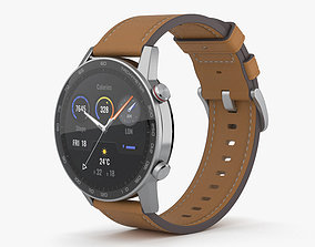 Honor MagicWatch 2 Flax Brown 3D