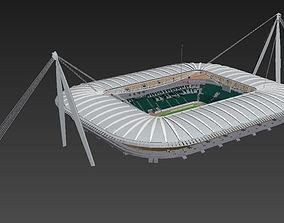 Juventus stadium HQ 3D model