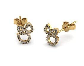 precious Earrings 3D print model