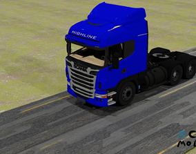 3D model Scania Truck