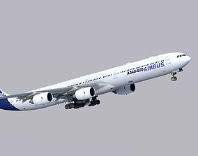 Airbus A340-600 3D asset