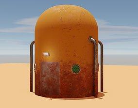 3D asset Mars module