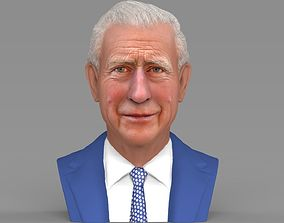 Prince Charles bust ready for full color 3D