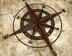 3D printable model Old Metal Compass