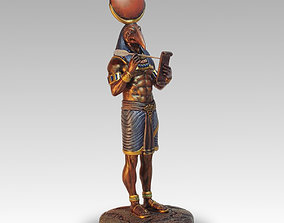 3D print model thoth the egyptian god of wisdom