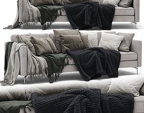 BoConcept Osaka 3 seater sofa 3D model