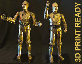 model C3PO HQ Special 3Dprint 1-3 Scale 650mm