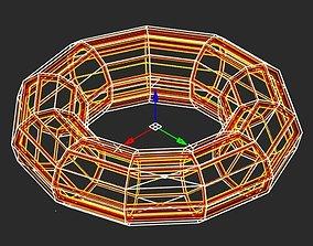3D printable model Torus inductor prototype