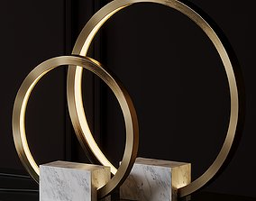 Portal Table Lamp by Christopher Boots 3D