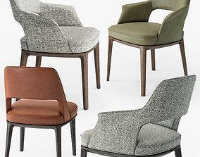 Poliform Sophie Lite chair 3D model