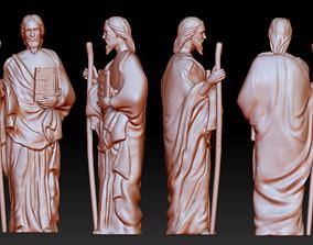 Statue 11 of saint Notre Dame 3D print model