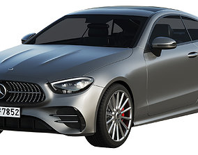 Mercedes-Benz E-Class Coupe AMG-Line 2021 3D model