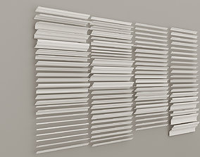 3D Collection cornices with a smooth profile Decorative