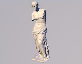Venus 3D Statue Sculpture Model Low Poly 2019