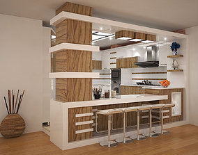 3D kitchen modeling