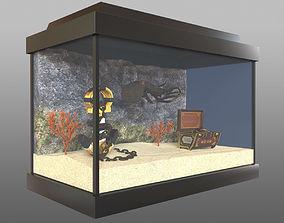 3D Aquarium with an octopus