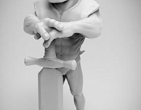 character 3D print model Grauth