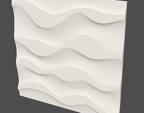 new wave panel 3 3D print model