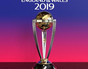 3D ICC Cricket World Cup Trophy