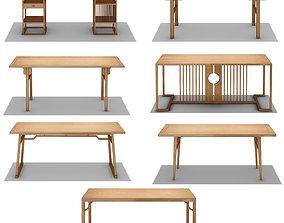 3D model Tea table wood