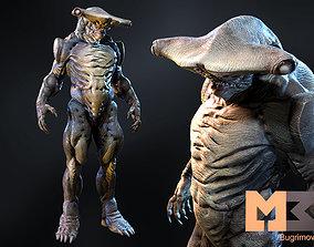 3D model Monster Underwater 03