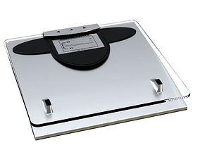 3D Modern Glass Scale