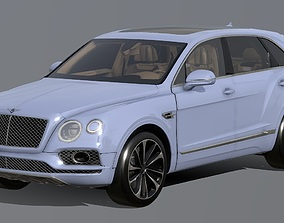 realtime ultra-luxury Bentley Bentayga 3D Model