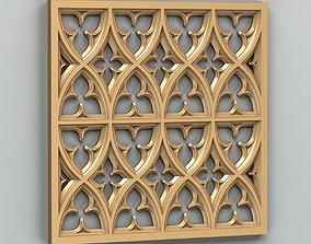 3D model Wall panel 022