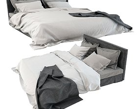 3D Photorealistic Bed 01