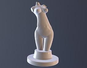 character Female torso 3D printable model