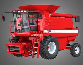 3D IH 1688 Combine Harvester