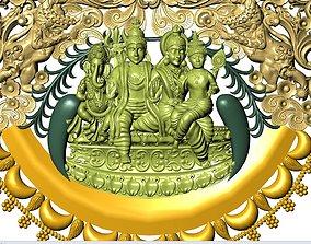 3D printable model durga shiv god temple jewelry