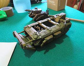 3D printable model GARGANTHIA infantry large transport