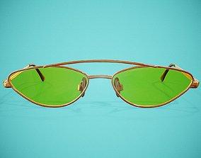 Squint Glasses 3D asset