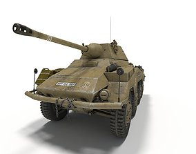Sd Kfz 234-2 Puma 3D