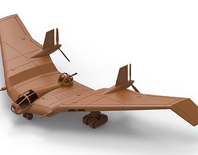 3D Model of Aircraft Flying-Wing for 3d Printing