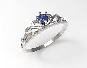 Ring Crown STL 3D print model