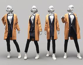 3D model Woman Mannequin 14