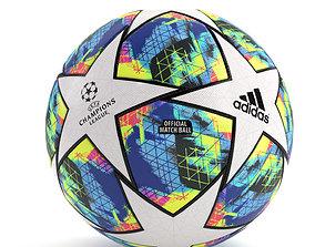 UEFA CHAMPIONS LEAGUE FINALE 19 Ball PBR 3D asset