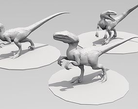 3D print model UthaRaptor three poses