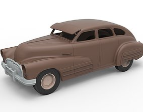3D printable model Diecast shell and wheels Oldschool 4